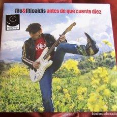 Discos de vinilo: FITO & FITIPALDIS - ANTES DE QUE CUENTE DIEZ LP + CD 2019. Lote 179145505