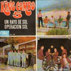 "Discos de vinilo: KING COMBO 5 - SINGLE 7"" AUTOGRAFIADO - EDITADO EN ESPAÑA - UN RAYO DE SOL + 1 - FONAL 1970. Lote 179147340"