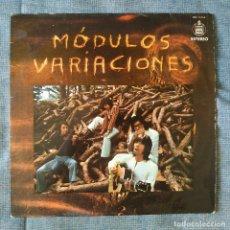 Discos de vinilo: MODULOS - VARIACIONES - ORIGINAL SPAIN HISPAVOX HHS 11-214 DEL AÑO 1971 - POKORA - MUY BUEN ESTADO. Lote 179149005