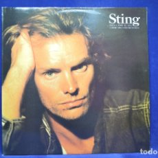 Discos de vinilo: STING - NADA COMO EL SOL - LP. Lote 179150356