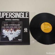 Discos de vinilo: JJ10- DO YOU BELIEVE IN MAGIC SUPERSINGLE MAXI ESP 1981 VIN POR VG + DIS VG +. Lote 179150462