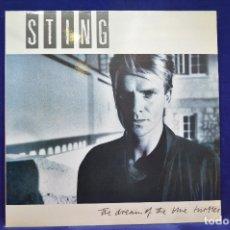 Discos de vinilo: STING - THE DREAM OF THE BLUE TURTLES - LP. Lote 179150645
