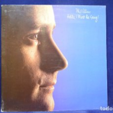 Discos de vinilo: PHIL COLLINS - HELLO, I MUST BE GOING! - LP. Lote 179151572