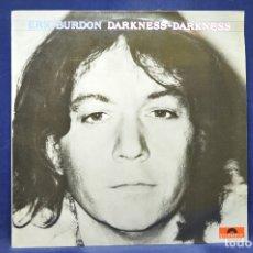 Discos de vinilo: ERIC BURDON - DARKNESS / DARKNESS - LP. Lote 179152261