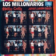 Discos de vinilo: LOS MILLONARIOS SINGLE FONAL EXCELENTE, COMO NUEVO!!!. Lote 179152930