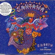 Discos de vinilo: SANTANA FEAT ROB THOMAS - SMOOTH - CD SINGLE - EU 2000 - ARISTA - 74321 74876 2. Lote 179153222