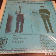 Discos de vinilo: JAMES PAUL MCCARTNEY - LP - LIVE 16 ABRIL 1973 - THE BEATLES - RED ROSE - RAM - WILD LIFE. Lote 179153265
