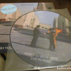 Discos de vinilo: PINK FLOYD - LP - PICTURE DISC - WISH YOU WERE HERE - PARIS 25 FEBRERO 1977 - LIMITADO A 300 COPIAS. Lote 179153476