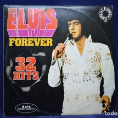 Discos de vinilo: ELVIS PRESLEY - ELVIS FOREVER - 2 LP. Lote 179153745