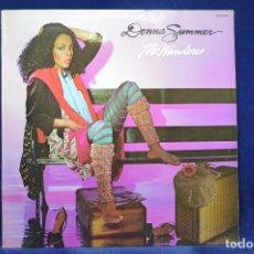 Discos de vinilo: DONNA SUMMER - THE WANDERER - LP. Lote 179153946