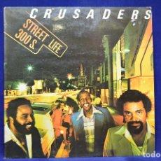 Discos de vinilo: CRUSADERS - STREET LIFE - LP. Lote 179154115