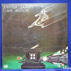 Discos de vinilo: JEAN-LUC PONTY - COSMIC MESSENGER - LP. Lote 179154216