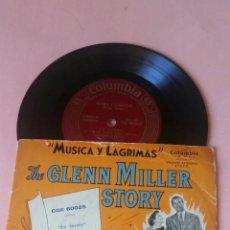 Discos de vinilo: MÚSICA Y LÁGRIMAS -TE GLENN MILLER STORY COLUMBIA CÓMO LAS FOTOS. Lote 179155583
