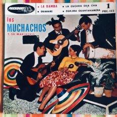 Discos de vinilo: LOS MUCHACHOS Y SUS MARIACHIS EP PRESIDENT EDIC FRANCIA. Lote 179155666