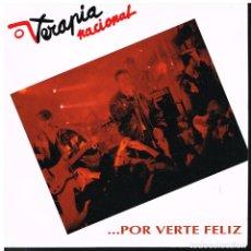 Discos de vinilo: TERAPIA NACIONAL - ... POR VERTE FELIZ - SINGLE 1992 - PROMO - BUEN ESTADO. Lote 179155990
