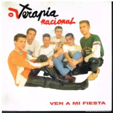 Discos de vinilo: TERAPIA NACIONAL - VEN A MI FIESTA - SINGLE 1992 - PROMO. Lote 179156053