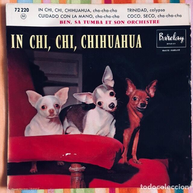 BEN SA TUMBA ET SON ORCHESTRE EP BARCLAY (Música - Discos de Vinilo - EPs - Pop - Rock Extranjero de los 50 y 60)