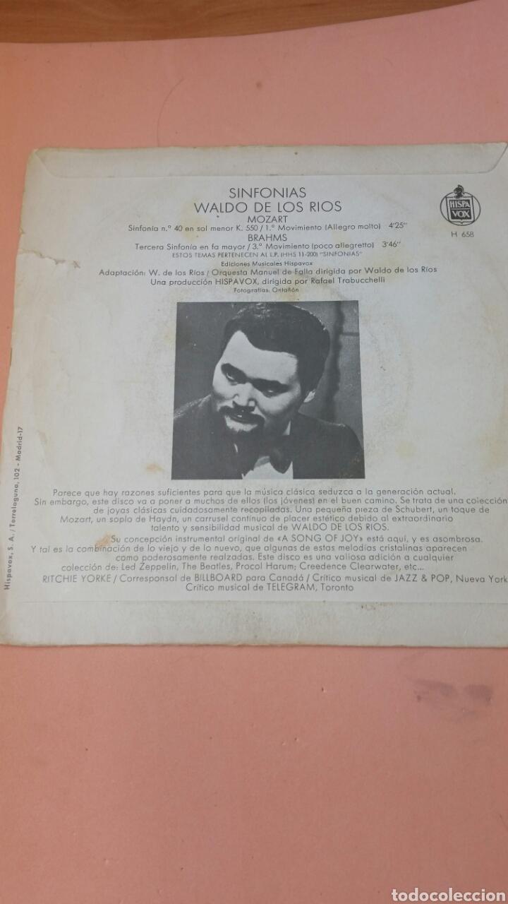 Discos de vinilo: sinfonías- waldo de los rios - Foto 2 - 179157222