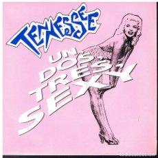 Discos de vinilo: TENNESSEE - UN, DOS, TRES, SEXY / UNA NOCHE - SINGLE 1991 - PROMO - MUY BUEN ESTADO. Lote 179157347