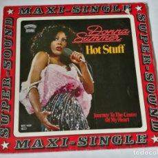 Discos de vinilo: DONNA SUMMER - HOT STUFF - 1979. Lote 179157763
