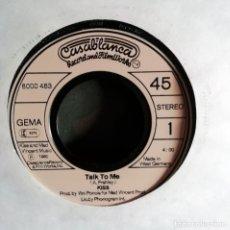 Discos de vinilo: KISS – TALK TO ME - GERMANY 1980 FUNDA GENÉRICA. Lote 179162323