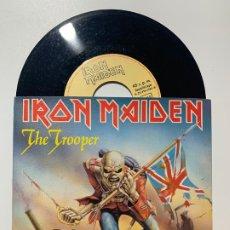 Discos de vinilo: SINGLE EP VINILO IRON MAIDEN THE TROOPER EDICION ESPAÑOLA DE 1983. Lote 179166053