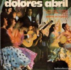 Discos de vinilo: DOLORES ABRIL - LA TINTA DEL CALAMAR + 3 - EP 1967. Lote 179166533