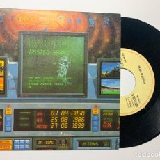 Discos de vinilo: SINGLE EP VINILO IRON MAIDEN WASTED YEARS EDICION ESPAÑOLA DE 1986. Lote 179167773