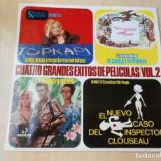 Discos de vinilo: CUATRO GRANDES EXITOS DE PELICULAS / VOL. 2, EP, JORGE RENAN - TOPKAPI + 3, AÑO 1964. Lote 179169483