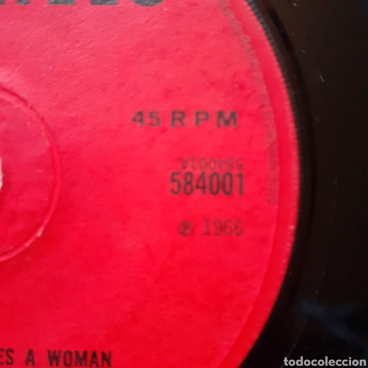 Discos de vinilo: Percy Sledge When a man.../Love me like you mean it single UK 1966 Atlantic 584001 - Foto 4 - 179172862