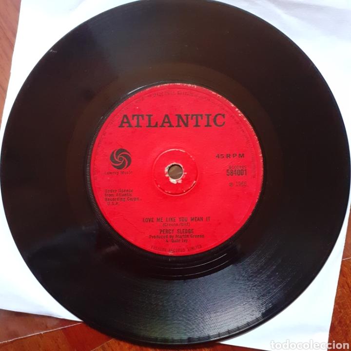 Discos de vinilo: Percy Sledge When a man.../Love me like you mean it single UK 1966 Atlantic 584001 - Foto 5 - 179172862
