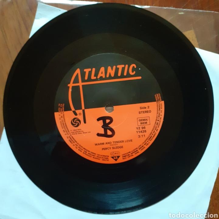 Discos de vinilo: Percy Sledge When a man.../Warm and tender love ATLANTIC YZ96 11426 WEA reedición alemana - Foto 2 - 179173255