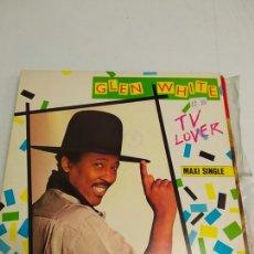 Discos de vinilo: GLEN WHITE – TV LOVER. Lote 179175000