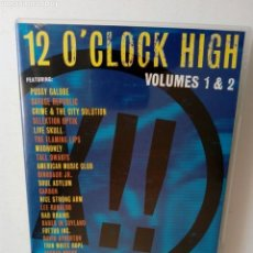 Discos de vinilo: DVD: 12 O'CLOCK HIGH VOLUMES 1 & 2 (PUSSY GALORE, DINOSAUR JR., FLAMING LIPS, MUDHONEY, SOUL ASYLUM. Lote 179175235