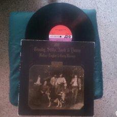 Discos de vinilo: CROSBY STILLS NASH & YOUNG LP DEJA VU 1970 ED ESPAÑOLA. Lote 179175890