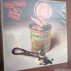 Discos de vinilo: LP DISCO VINILO ROLLING STONES STICKY FINGERS 10C068-063.616 AÑO 1980 ESPAÑA. Lote 179176133