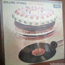 Discos de vinilo: LP DISCO VINILO ROLLING STONES LET IT BLEED SKL 5025. Lote 179176786
