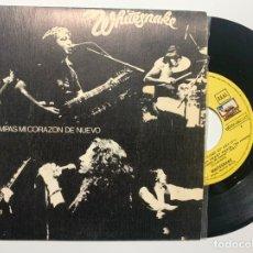 Discos de vinilo: SINGLE EP VINILO WHITESNAKE NO ROMPAS MI CORAZON DE NUEVO EDICION ESPAÑOLA DE 1981. Lote 179177005
