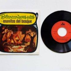 Discos de vinilo: 1968, BLANCANIEVES Y LOS ENANITOS DEL BOSQUE. Lote 179177638
