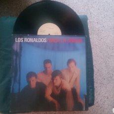 Discos de vinilo: LOS RONALDOS LP SACA LA LENGUA 1988 APERTURA POR ARRIBA CON ENCARTE COQUE MALLA. Lote 179177991