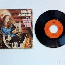 Discos de vinilo: 1971, JANIS JOPLIN, YO Y BOBBIE MCGEE. Lote 179178263