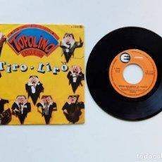 Discos de vinilo: 1982, RADIO TOPOLINO ORQUESTA, TIRO-LIRO, EXPLOSION, E-34585. Lote 179178295