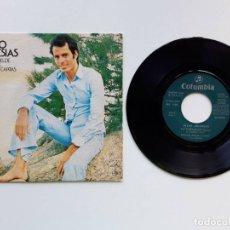Discos de vinilo: 1973, JULIO IGLESIAS, RIO REBELDE, A VECES LLEGAN CARTAS, COLUMBIA MO 1325. Lote 179178305