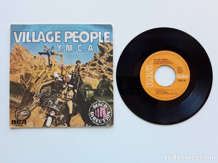 Discos de vinilo: Village People. Y.M.C.A. YMCA - Foto 1 - 179178448