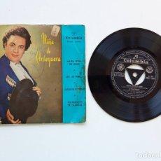 Discos de vinilo: NIÑA DE ANTEQUERA, MARÍA ROSA DE LEÓN, AY MI PERRO, COLUMBIA. Lote 179178498