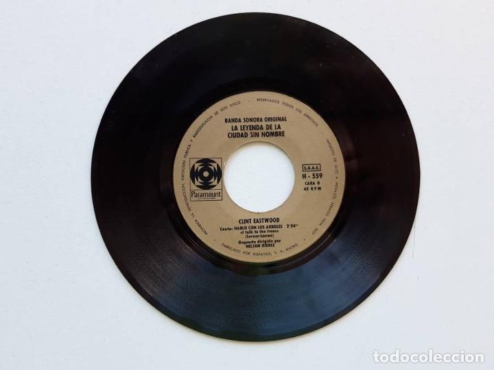 Discos de vinilo: La leyenda de la ciudad sin nombre, Lee Marvin, Clint Eastwood, Paramount, sólo el disco - Foto 2 - 179178510