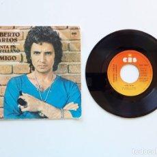 Discos de vinilo: ROBERTO CARLOS CANTA EN CASTELLANO AMIGO. Lote 179178513