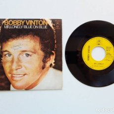 Discos de vinilo: BOBBY VINTON, MR. LONELY, BLUE ON BLUE. Lote 179178540