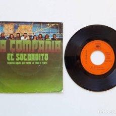 Discos de vinilo: LA COMPAÑÍA, EL SOLDADITO. Lote 179178543