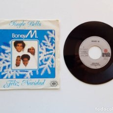 Discos de vinilo: BONEY M. JINGLE BELLS, FELIZ NAVIDAD. Lote 179178560